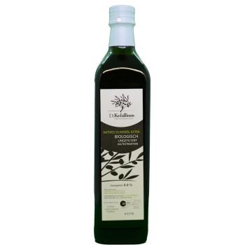 D.Kefallinos Huile d'Olive extra vierge de l'île de Zakynthos 0.75L (Bio)